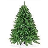 Spritzguss Weihnachtsbaum künstlich 150cm in Premium Spritzguss Qualität, grüne Douglastanne, Künstlicher Tannenbaum mit PE Kunststoff Nadeln, wie echt wirkend, Douglasie Christbaum