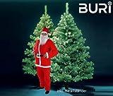 Buri Weihnachtsbaum 210cm Weihnachtsmannkostüm Tannenbaum Nikolauskostüm