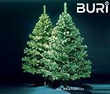 BURI Weihnachtsbaum 180cm Weihnachten Weihnachtsfest Christbaum Tannenbaum