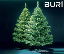 Künstlicher Weihnachtsbaum 150 Cm.Buri Künstlicher Weihnachtsbaum Künstlicher Christbaum 150 Cm